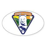 WoofDriver WooF Sticker (Oval 10 pk)