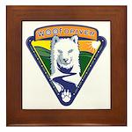 WoofDriver WooF Framed Tile