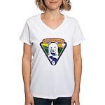 WoofDriver WooF Women's V-Neck T-Shirt
