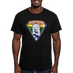 WoofDriver WooF Men's Fitted T-Shirt (dark)