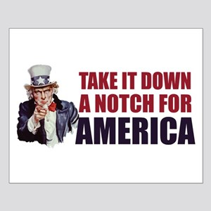 Take it down a notch for America Small Poster