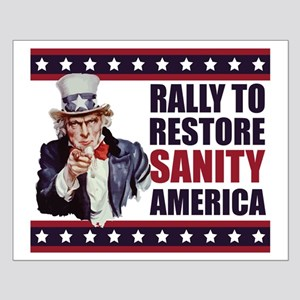 Rally to Restore Sanity America Small Poster