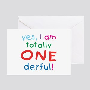 Onederful 1st Birthday First Greeting Cards Packa