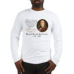 Ben Franklin on Control Long Sleeve T-Shirt