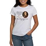 Ben Franklin on Control Women's T-Shirt