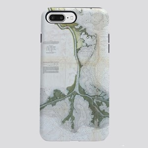 Vintage Map of The Missis iPhone 7 Plus Tough Case