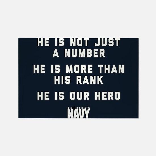 U.S. Navy Hero Rectangle Magnet