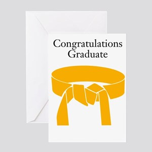 Orange Belt Greeting Cards