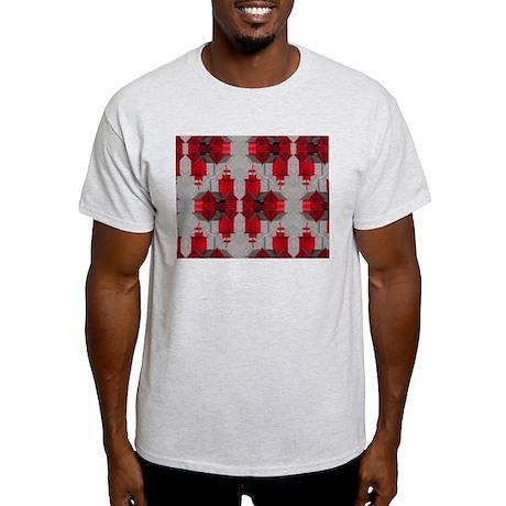 Big Red Lighthouse2 Ash Grey T-Shirt