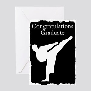 Karate Graduate Greeting Cards