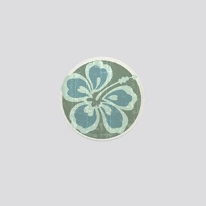 Beach Flower Mini Button