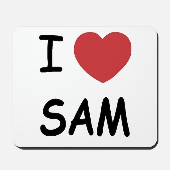 I heart Sam Mousepad