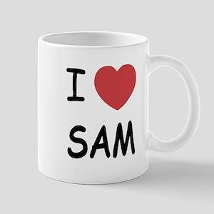 I heart Sam Mug