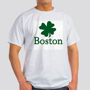 Irish Boston Ash Grey T-Shirt