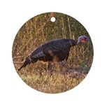 Wild Turkey Ornament (Round)