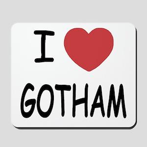 I heart Gotham Mousepad