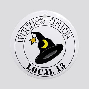 Witches Union Ornament (Round)