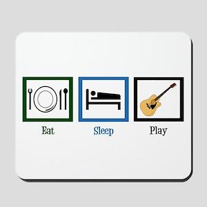 Eat Sleep Guitar Mousepad
