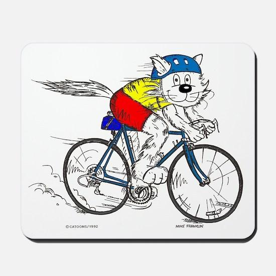 Bicycle Cat Mousepad