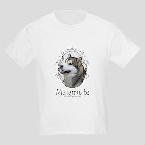 Life's Better Malamute T-Shirt