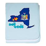 ILY New York baby blanket