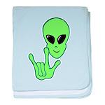 ILY Alien Infant Blanket