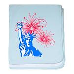 ILY Fireworks Liberty Infant Blanket