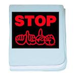 Stop AIDS Infant Blanket