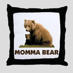 PROTECTING MY CUBS Throw Pillow