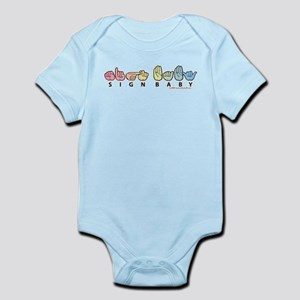 Captioned Sign Baby Infant Bodysuit