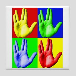 Vulcan Hand Tile Coaster