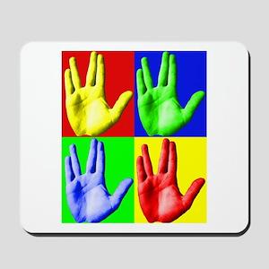 Vulcan Hand Mousepad