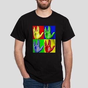 Vulcan Hand Dark T-Shirt