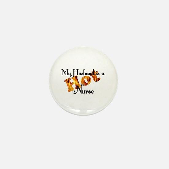 Funny Hot nurse Mini Button