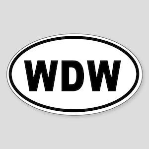 WDW Bumper copy 2 Sticker