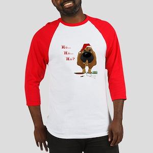Bloodhound Santa's Cookies Baseball Jersey