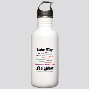 Love Thy Neighbor Stainless Water Bottle 1.0L