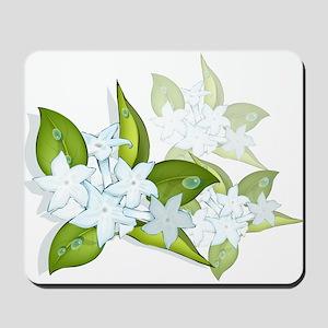 jasmine Flowers artwork Mousepad
