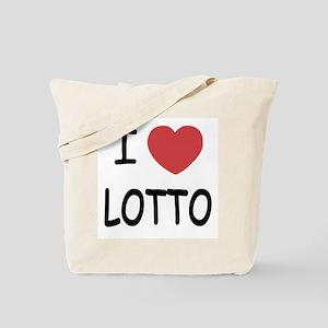 I heart lotto Tote Bag