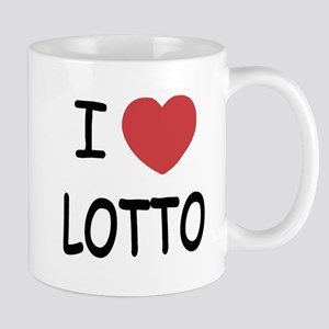 I heart lotto Mug