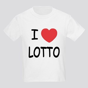 I heart lotto Kids Light T-Shirt