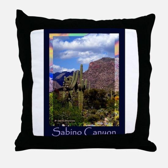 Sabino Canyon Throw Pillow