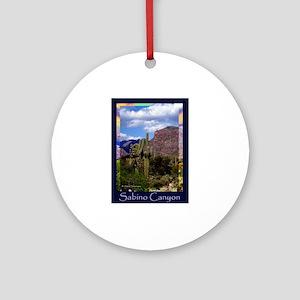Sabino Canyon Ornament (Round)