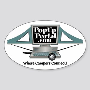 PUP Logo Oval Sticker