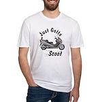 Just Gotta Scoot Burgman Fitted T-Shirt