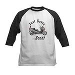 Just Gotta Scoot Burgman Kids Baseball Jersey