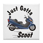 Just Gotta Scoot Burgman Tile Coaster