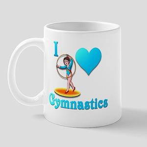 I Love Gymnastics #3 Mug