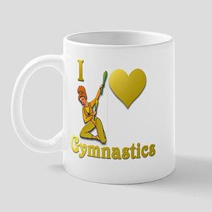 I Love Gymnastics #4 Mug