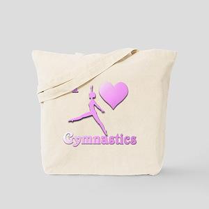 I Love Gymnastics #6 Tote Bag